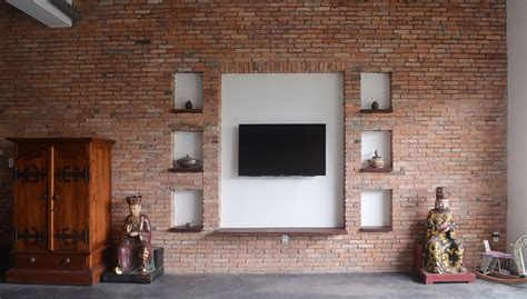 Ziegelstein Wand Innen by Rustic Finishes Intertwined With Gorgeous Green Spaces