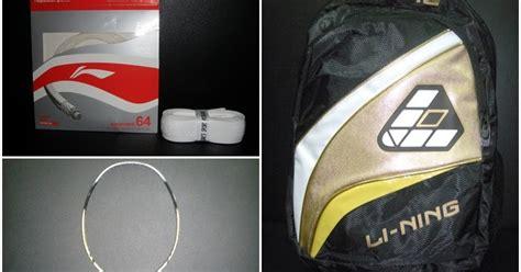 Raket Badminton Li Ning Uc Lite 8500 ajak s sport raket li ning 1