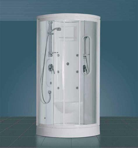 doccia monoblocco box doccia semicircolare con parete monoblocco calypso