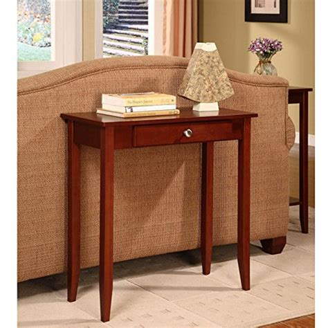 rosewood sofa table dhp rosewood sofa table cherry stain wood