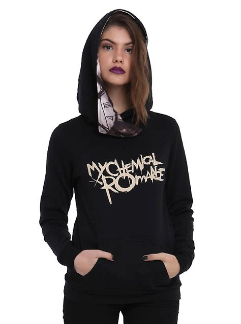 Jaket K125 Out Of Line Hoodie my chemical black parade pullover hoodie