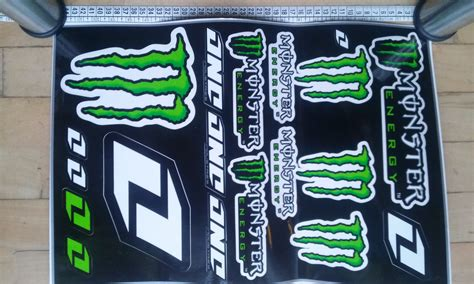 Aufkleber Monster Energy Auto by One Industries Monster Energy Monster Energy Aufkleber