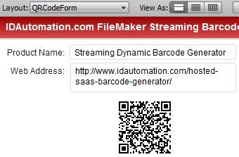 php qr code tutorial filemaker pro streaming barcode tutorial