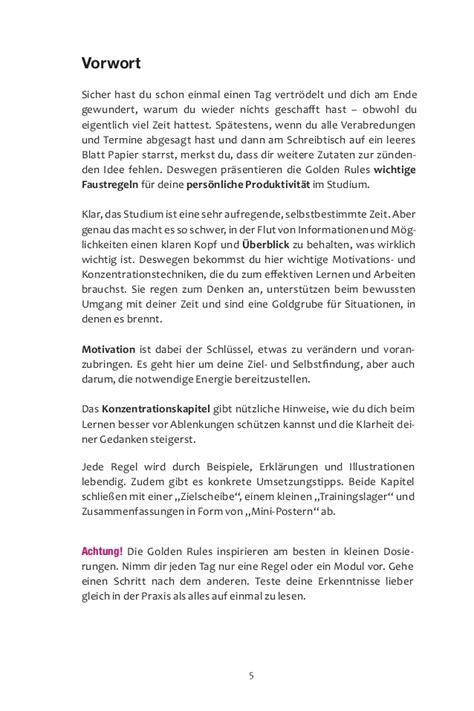 Muster Vwa Golden Buch Movation Konzentration Zeitmanagement
