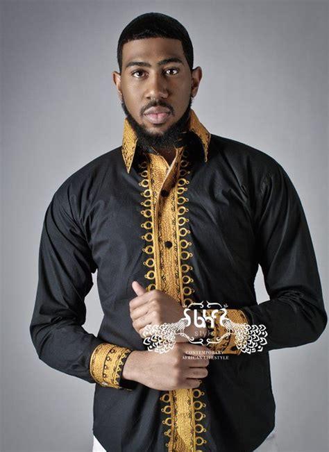 african kitenge shirts men gold moda africana bhf magazine 193 frica wowww la vie en