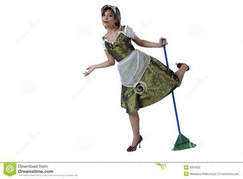 house keeper happy house keeper stock photography image 8391822