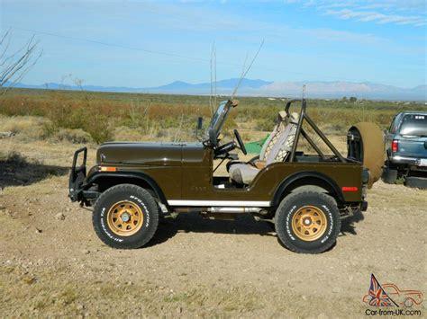 jeep cj5 1977 1977 jeep cj5 golden eagle sport utility 2 door 5 0l