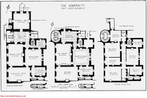 layout of house of lords plan of admiralty house first lord of the admiralty s