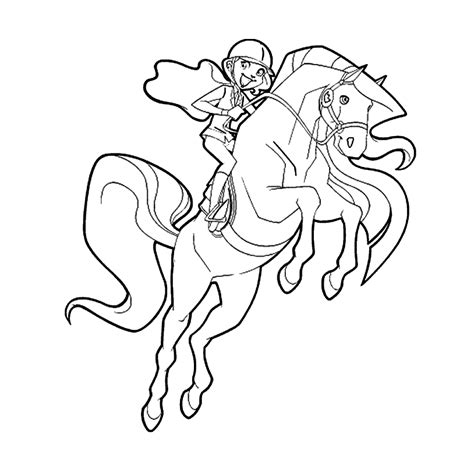 horseland coloring pages free printable horseland coloring pages for