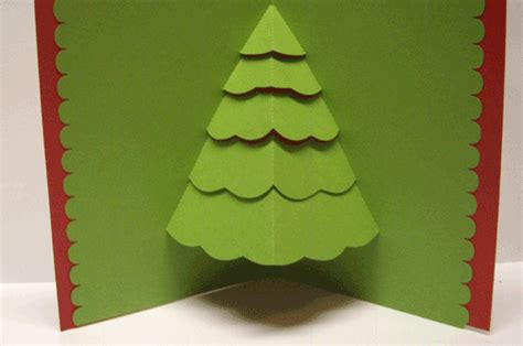 paper pulse blog spot christmas pop up tree card and more