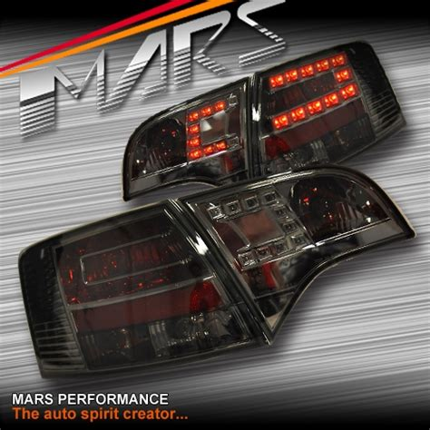 audi b7 tail lights smoked black led tail lights for audi a4 s4 rs4 s line b7