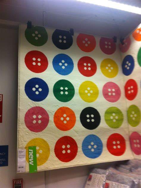 ikea button rug ikea button rug sewing and craft rooms i crafts and rugs