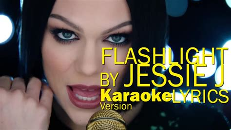 jessie j karaoke flashlight by jessie j karaoke lyrics youtube