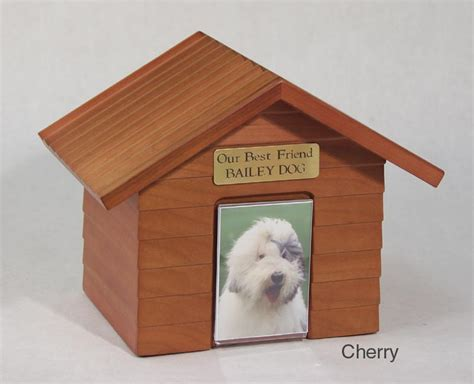 dog house urn dog house pet memorial urn personalized