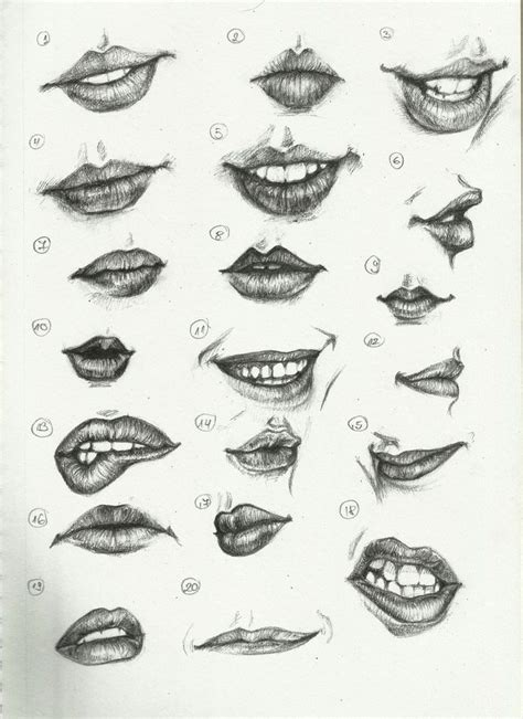 Drawing Mouths 25 best ideas about drawing on draw