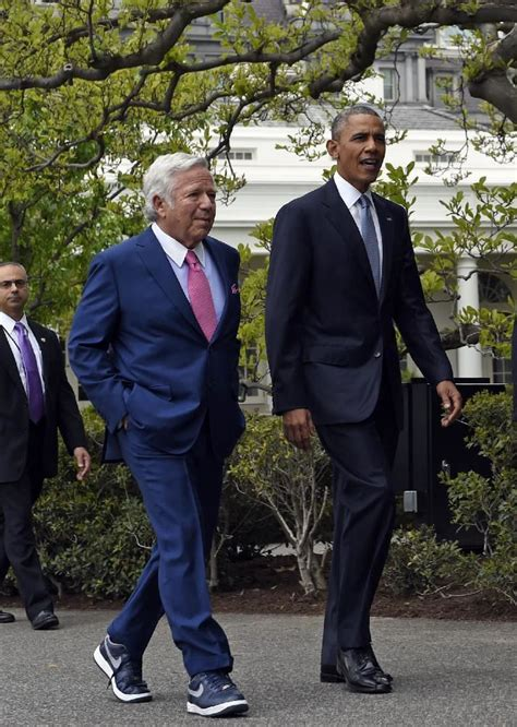 robert kraft house patriots owner robert kraft wore nikes to meet the president sole collector