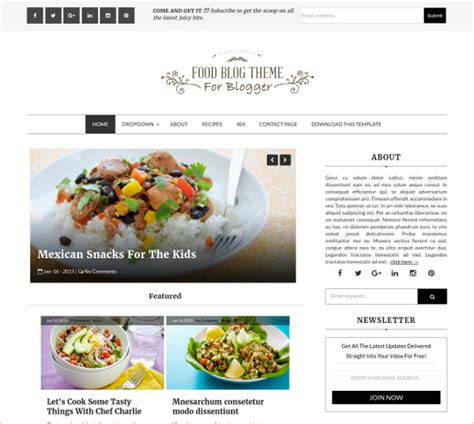 15 free beautiful blogger templates free premium