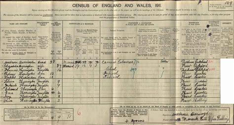1911 Census Address Search Free Ambrose Herrington