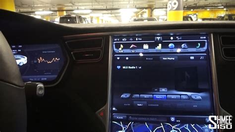 tesla inside inside the tesla model s p85d entertainment and displays