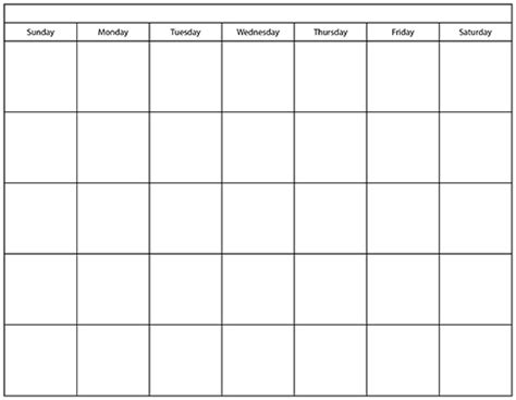 page blank calendar template calendar template dr