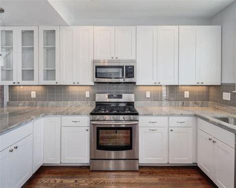 gray glass tile kitchen backsplash grey glass tile backsplash houzz