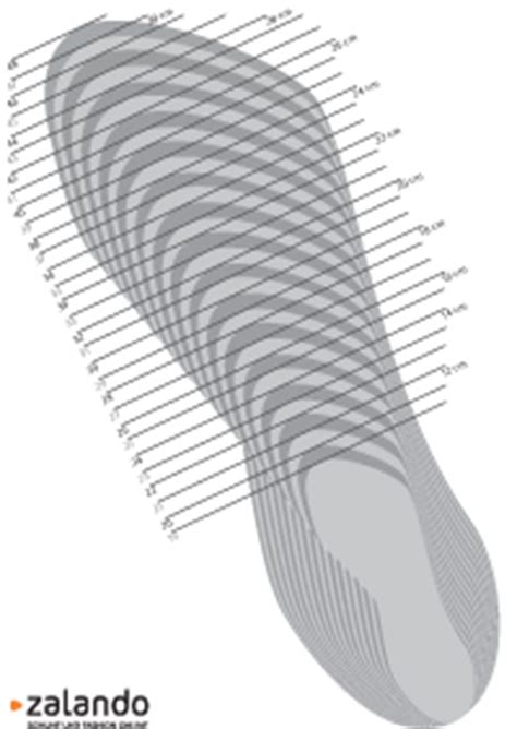 shoe size template printable uk shoes up to 80 at zalando lounge measurements