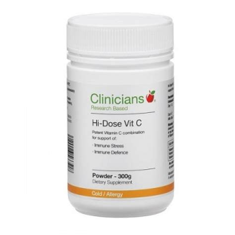 Vitaminc Dosage For Detox by Clinicians Hi Dose Vitamin C