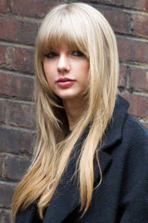 long hairstyles  bangs   hairstyles