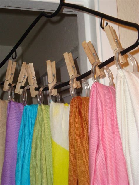 23 best images about scarf hangers on tie