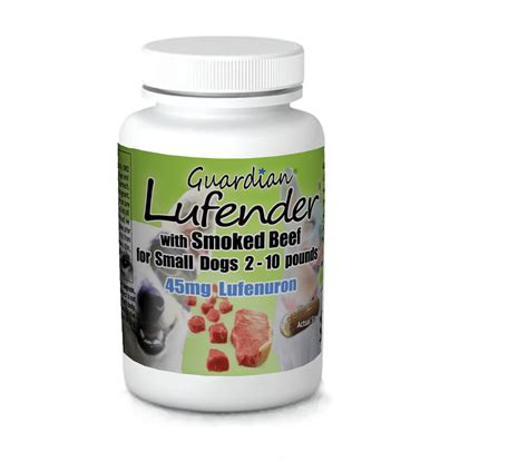 lufenuron for dogs 45mg of usp lufenuron for small dogs 2 10 lbs