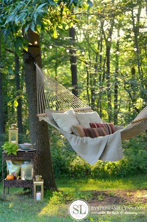 25 best ideas about garden hammock on wooden