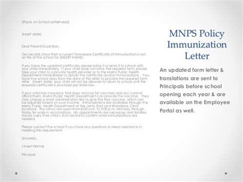 Vaccination Certificate Letter Shs Immunizations