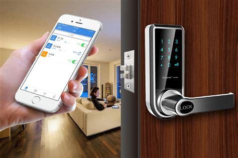 Bluetooth Bedroom Door Lock Newest Digital Bluetooth Mobile Door Lock Touch Screen