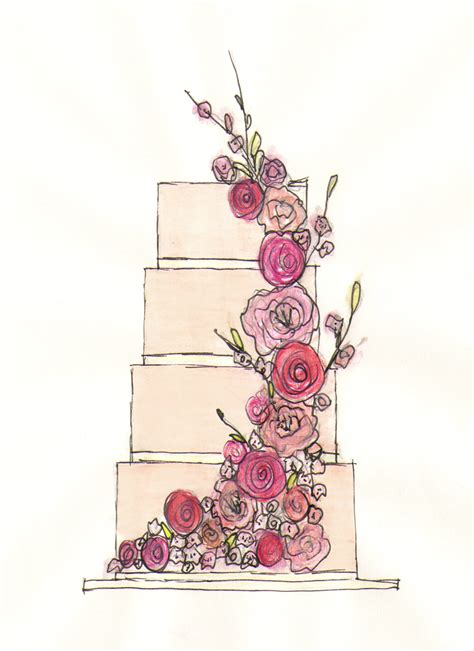 Hochzeitstorte Zeichnung by 1000 Images About Cake Sketch On Sketching