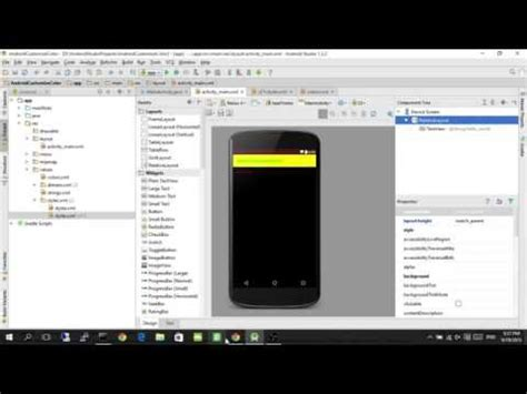 app themes android studio customize color for your app for material theme using