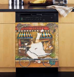 Dishwasher Cover by Chef In Custom Dishwasher Cover Cheap Kitchen Decorating Ideas