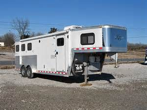 Awning For Horse Trailer 04 Keifer Horse Trailer With Living Quarters