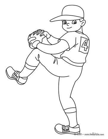 baseball boy coloring page kid baseball pitcher coloring pages hellokids com