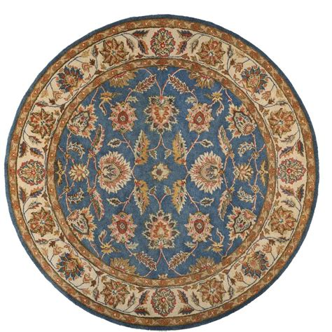 Home Decorators Collection Old London Blue Cream 8 Ft X 8 8ft Rugs