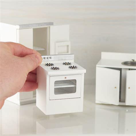 Dollhouse Miniature Kitchen Appliance Set   Kitchen