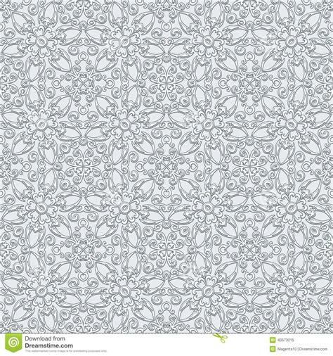 grey lace pattern grey lace pattern stock vector image 40573215