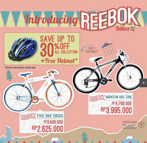 reebok bikes line up lengkap blibli friends