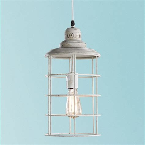 Coastal Outdoor Light Fixtures Coastal Cage Hanging Lantern Outdoor Hanging Lights By Shades Of Light