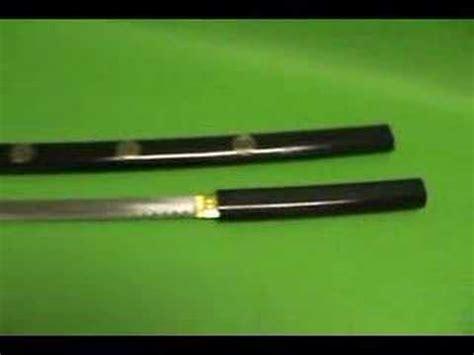 Pedang Samurai Katana Kill Bill Black Gold o ren ishii kill bill black shirasaya katana gold lotus