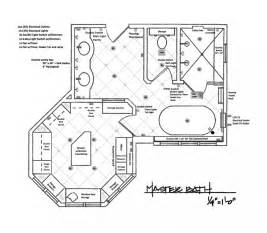 Bathroom Floor Plan Layout Master Bedroom With Bathroom Floor Plans Images
