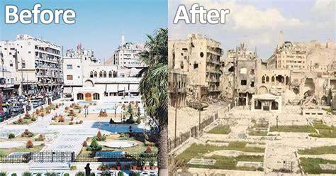 Syria Before And After   syria before and after war kenyatalk