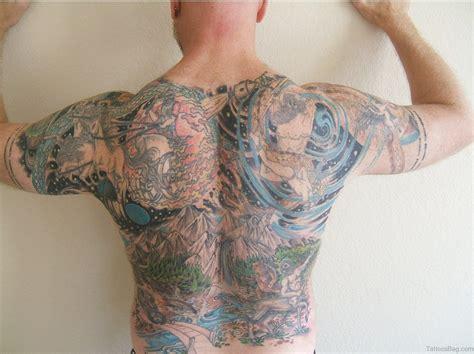 whole back tattoos 80 impressive back tattoos