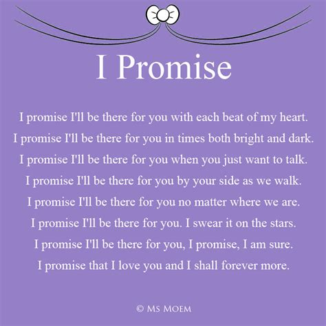 Wedding Vows Poems by I Promise Wedding Poem Ms Moem Poems