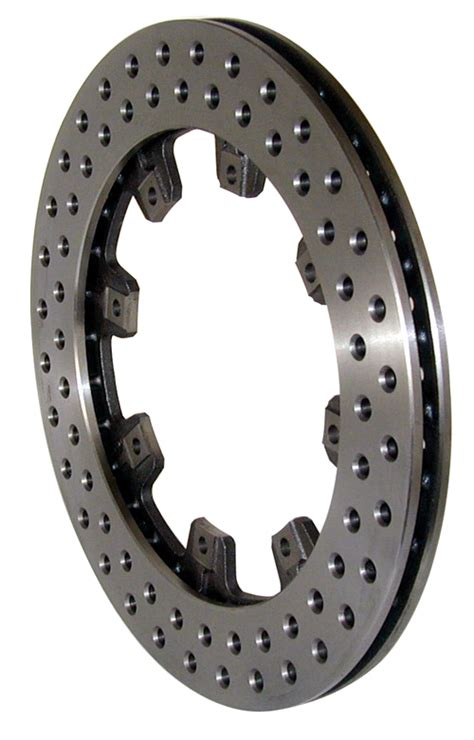 Rotor Scs 160 12 19 drilled 810 steel rotor sprint car parts