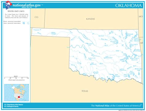 oklahoma rivers map oklahoma state maps interactive oklahoma state road maps